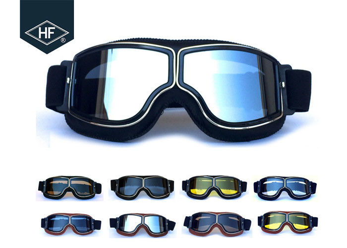 Retro Cafe Racer Aftermarket Motorcycle Accessories Custom Black Frame For Adults